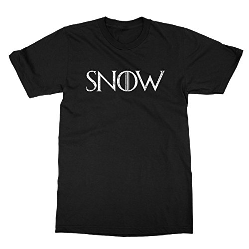 Snow Men's T-shirt - Game of Thrones, Winter is Coming, Jon Snow, Stark Tee (M, - Jamie Ol