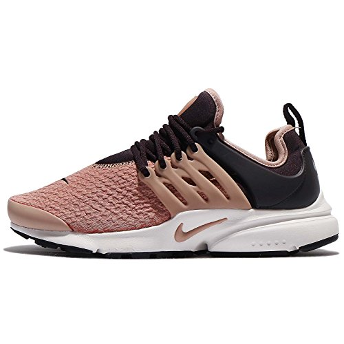 NIKE Women's Wmns Air Presto, Port Wine/Particle Pink, 7 M US by NIKE