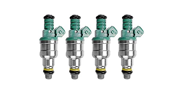 Set of 4 Bosch 0280150357 fuel injector Volvo 2.3L turbocharged