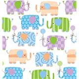 Baby Elephants Gift Wrapping Roll 24