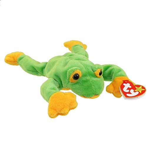 beanie babies green frog smoochy