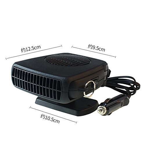 SL&LFJ Car air conditioner,Car heating unit cooling fan compact portable small desktop fan-A by SL&LFJ