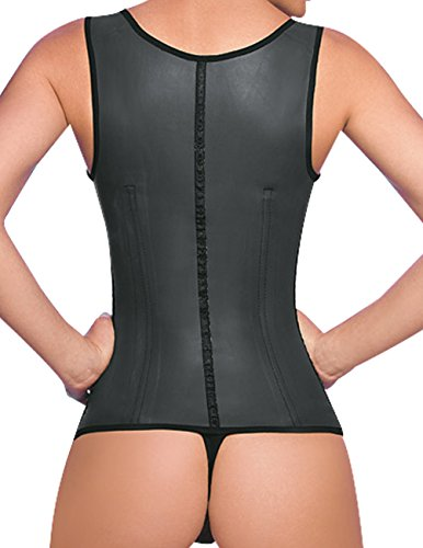 6731dda336 Ann Cherry Women s Full Vest Latex Waist Trainer Cincher Faja Girdle