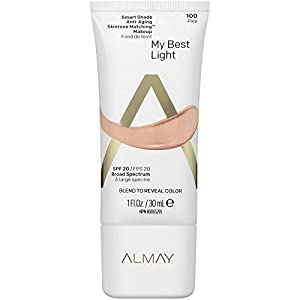 Almay Smart Shade Anti-Aging Skintone Matching Makeup, Light