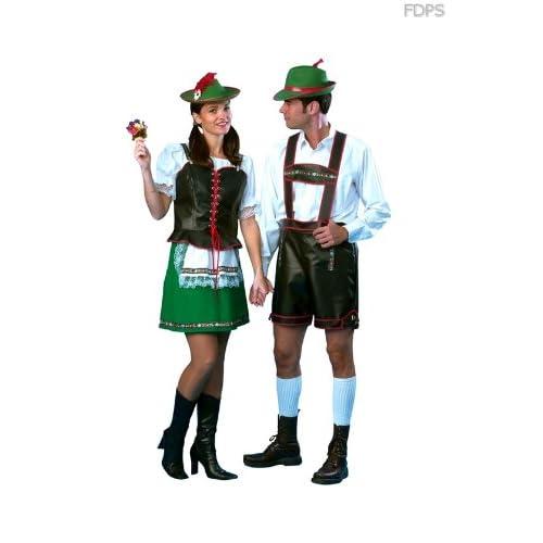 Disfraz Traje Vestimenta de Mucama Alemana -L Euro 42-44