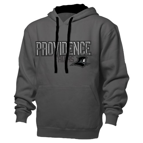 (NCAA Providence Friars Benchmark Colorblock Pullover Hood, Small, Graphite/Black)