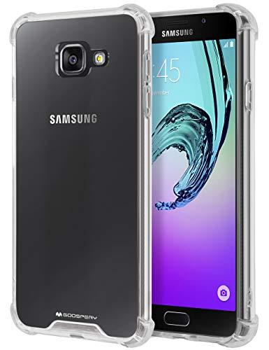 MERCURY Galaxy A7 2016 Case, [Air Cushion] Crystal Clear Hybrid [Protective TPU Cover & Hard PC Back] for Samsung Galaxy A7 2016, A72016-CCH