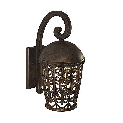 Designers Fountain 97592-BU Amherst-DS Wall Lanterns, Burnt Umber