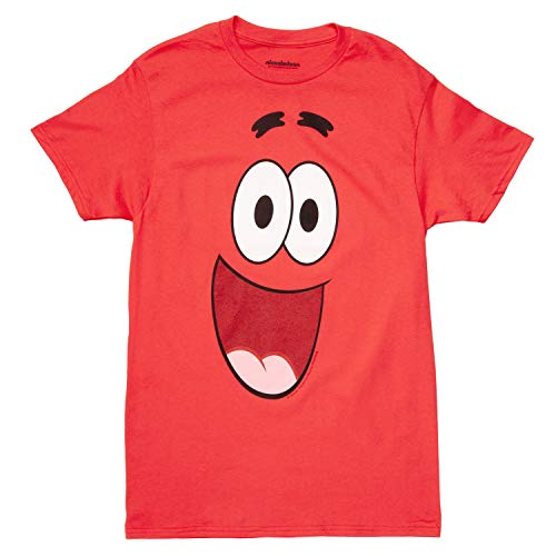 Spongebob Squarepants I Am Patrick Adult T-Shirt (X-Large) Pink]()