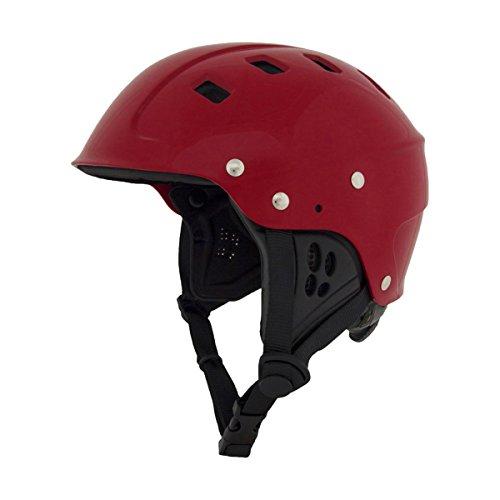 NRS Chaos Helmet-Side Cut Red Medium