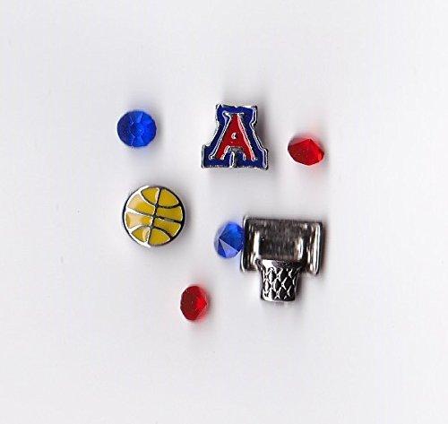 - University of Arizona Basketball Floating Charm Package