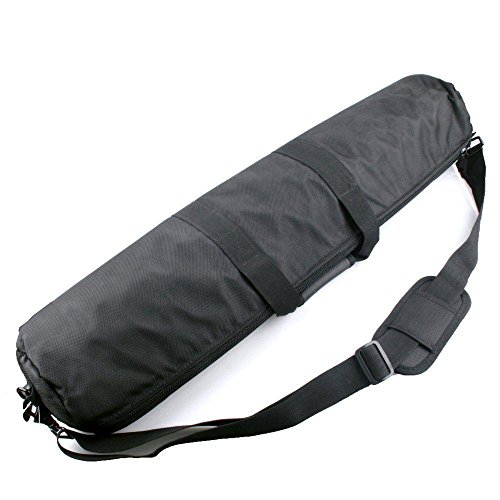 TuYung black 80cm Padded Strap Camera Tripod Carry Bag Travel Case For Manfrotto Gitzo Velbon Tripod (Padded Tripod)