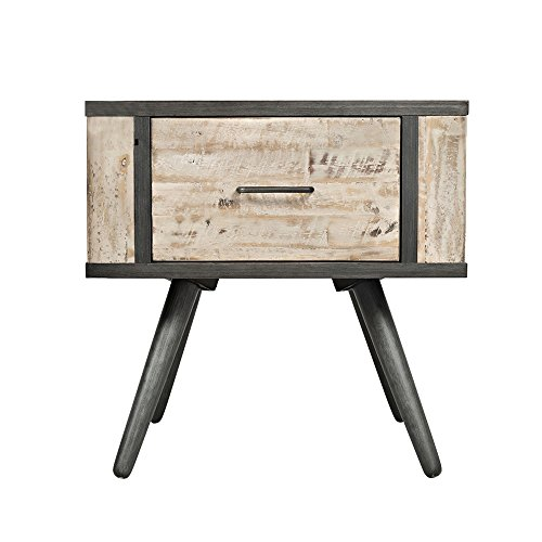 AiHerb.LT nightstand Solid Wood Bedside Cabinets Pine Wood Counters Counters Cabiners Storage Cabinets by AiHerb.LT
