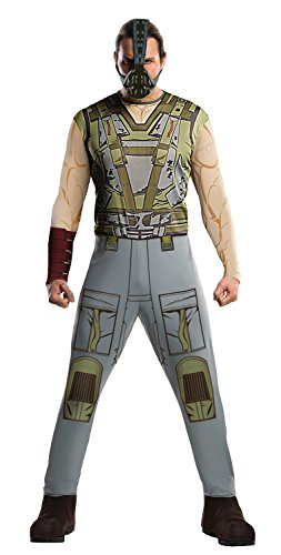 Batman The Dark Knight Rises Adult Bane Costume, Multi-Colored, (Bane Halloween Costumes Dark Knight Rises)