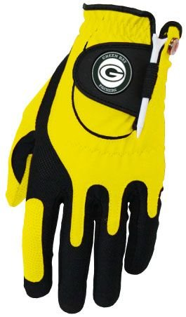 Zero Friction NFL Green Bay Packers Yellow Golf Glove, Left Hand by Zero Friction