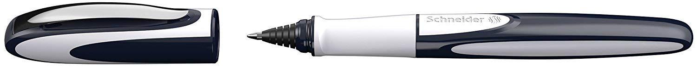 adatta per destrorsi e mancini corallo Penna roller ricaricabile con cartucce dinchiostro standard Schneider Ray