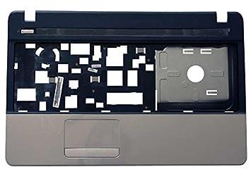M09N2.001 Top case refacción para notebook - Componente para ordenador portátil (Top case, Gateway, Negro, Plata, NE51B, NE56R, De plástico): Amazon.es: ...