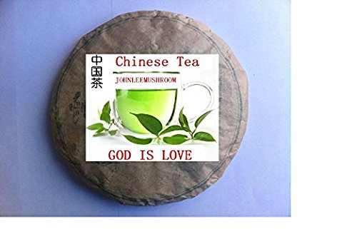 Organic top grade unfermented Pu erh tea cake, large leaves 714 grams bag packing pu er tea by JOHNLEEMUSHROOM RESELLER
