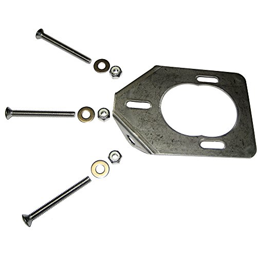 Lee's Stainless Steel Backing Plate For 30° Heavy Rod Holders (Plate Tackle)