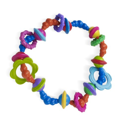 Manhattan Toy Whoozit Twist and Scout Activity Rattle and Teether