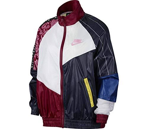 Nike Women's Woven Track Jacket Sportswear NSW AR3025 677 (Large)