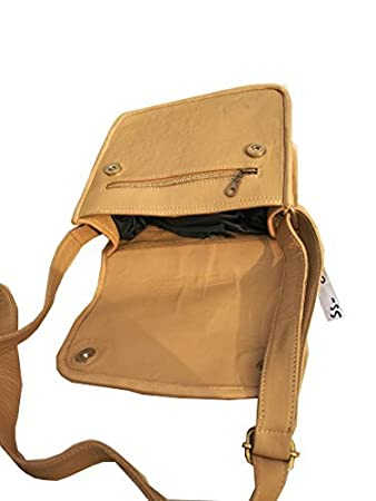 0e94de3627 Buy SS Leathers Pure Tenn Leather Messanger Bag Online at Low Prices in  India - Amazon.in