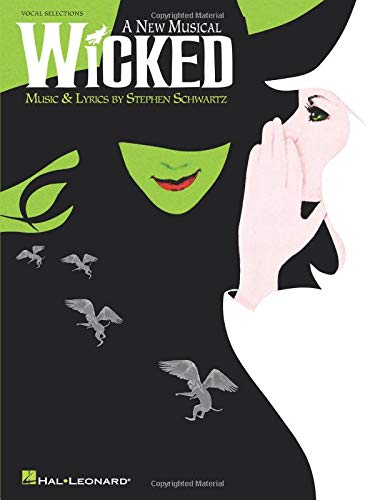 Wicked - Vocal Selections Classics Piano Accompaniment Book