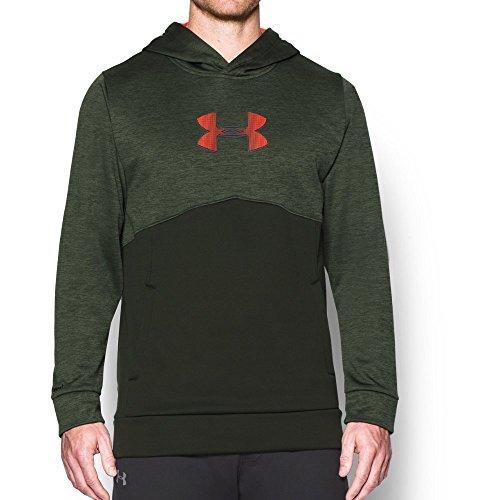 under-armour-mens-storm-icon-logo-twist-hoodie-artillery-green-bolt-orange-x-large