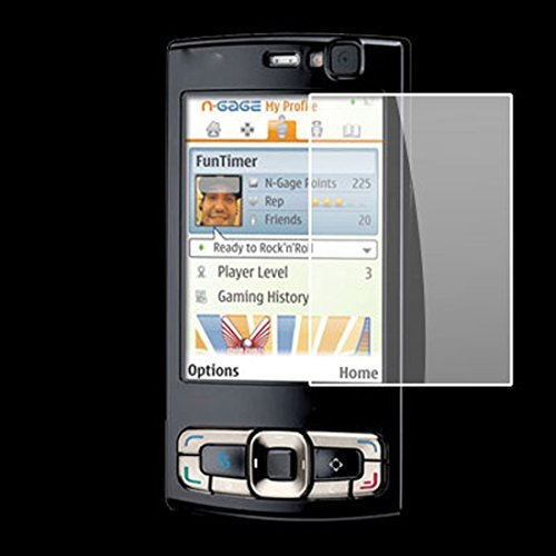 - DealMux Anti-dust Clear LCD Screen Film Protector for Nokia N95