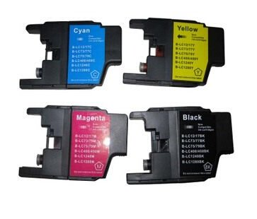 1 Set para br0ther LC75 de tinta para br0ther MFC-J6510DW ...