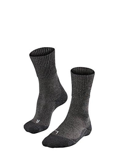 Falke Women's TK1 Wool Trekking Sock, smog 41-42
