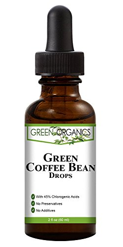 Green Organics Green Coffee Bean Liquid Extract Weight Loss Supplements | Suppresses Appetite | Boosts Metabolism | No Preservatives, No Additives | 100% Natural | 2 Fl Oz by Green Organics (Image #1)