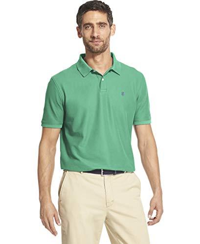 - IZOD Men's Slim Fit Advantage Performance Short Sleeve Solid Polo, Florida Keys, Medium