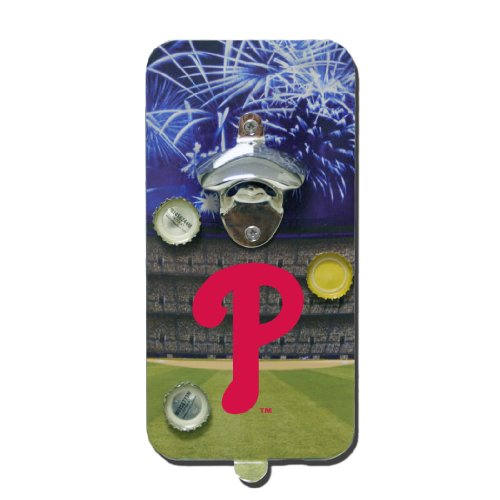 (MLB Magnetic Clink N Drink Bottle Opener MLB Team: Philadelphia Phillies)