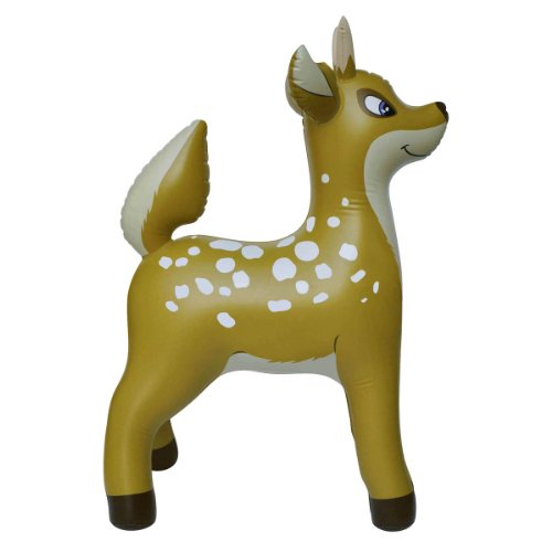 (Jet Creations Inflatable Deer Animals Party Stuffed Animal 36
