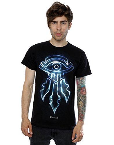 Warcraft Mens Mage Emblem T Shirt Xxx Large Black