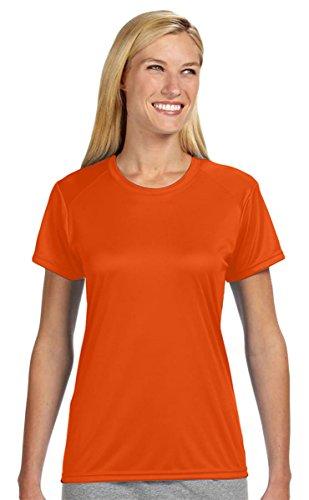 enfriamiento humedad Atl Camiseta Naranja interbloqueo de con de FqHnZUXH