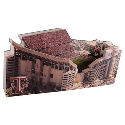 Texas A&M Aggies Kyle Field Stadium 3D Replica Regular 9'' Version With Lighted Display