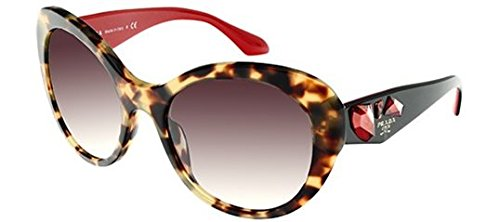 Prada Women's Designer Eyewear, Havana/Grey Gradient, - Red Prada Sunglasses Black And
