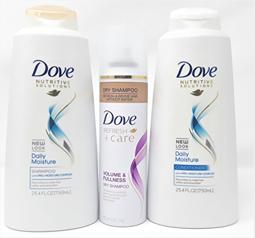Dove Daily Moisture Shampoo and Conditioner 25.4 Once Combo