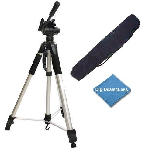 D4L Must Have 57-Inch Tripod For Canon EOS T7i T6i T6s, T6, T5i, T4i, T3i, T2i, T1i, SL1, T5, T3, XS, 80D, 70D, 60Da, 60D, 50D, 40D, 7D, 7D, Mark II, 6D, 6D Mark II III, 5D, 5D Mark II III, M M2 M3