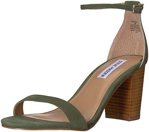 9 Multi Us W Sandal Declairw Steve Madden Women's Heeled Olive w6pw0qH