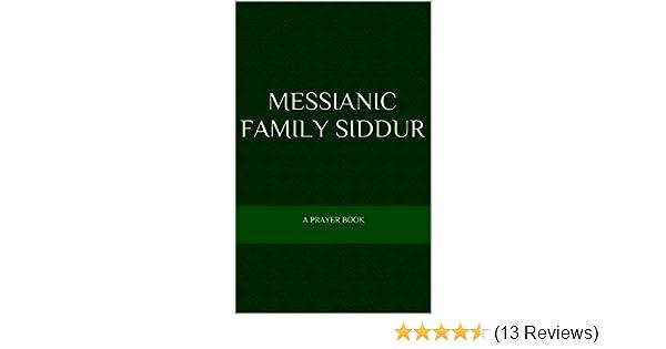 messianic family siddur a prayer book