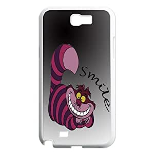 JenneySt Phone CaseAlice and Cheshire Cat Pattern For Samsung Galaxy Note 2 Case -CASE-4