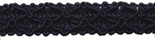 15mm Essential Trimmings Gimped Furnishing Braid Trimming Navy Blue - per metre