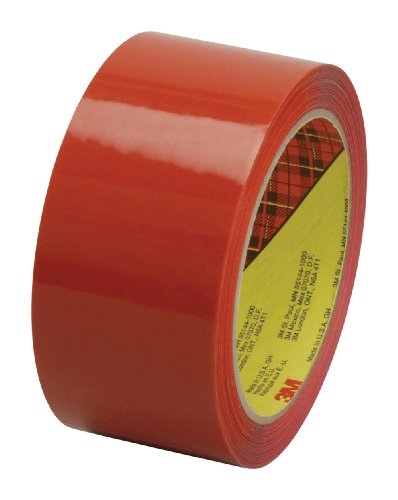 Scotch Box Sealing Tape 373 Orange, 48 mm x 50 m, High Performance, Conveniently Packaged (Pack of ()