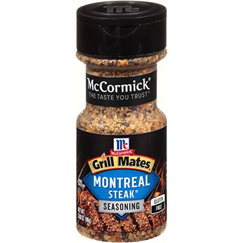 McCormick Grill Mates Montreal Steak Seasoning, 3.4 oz
