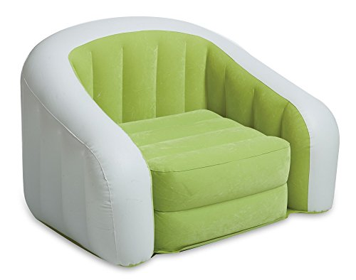 Intex Inflatable Cafe Club Chair (Green, One Size)