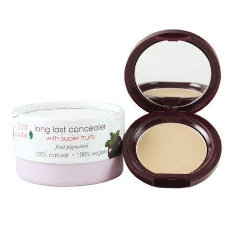 (100% Pure Long Last Compact Concealers, Creme)