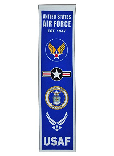 Ncaa Heritage Banner (NCAA US AIR FORCE Heritage Banner, Blue)